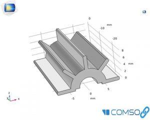 رسم هندسه در کامسول